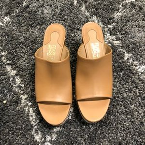 New Salvatore Ferragamo wedges sandals shoes